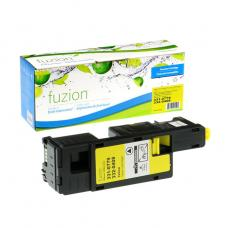 Compatible Dell 1350CN Toner Jaune Fuzion (HD)