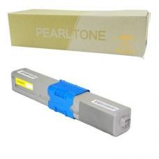 Compatible Okidata 44469701 Toner Jaune (EHQ)