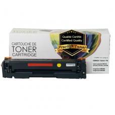 Compatible HP CB542A (125A), Jaune Prestige Toner
