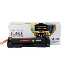 Compatible HP CF402X Toner Jaune Prestige Toner