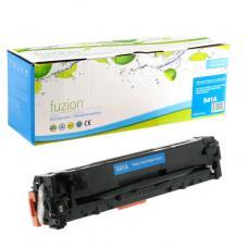 Réusinée HP CB541A (125A) Toner Cyan Fuzion (HD)
