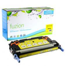 Recyclée HP Q6472A (502A) Toner Jaune Fuzion (HD)