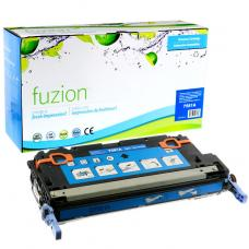 Recyclée HP Q7581A (503A) Toner Cyan Fuzion (HD)