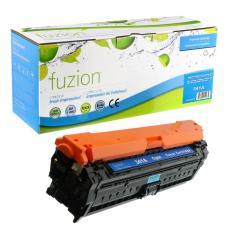 Recyclée HP CE341A (651A) Toner Cyan Fuzion (HD)