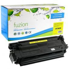 Compatible HP CF362X Toner Jaune Fuzion (HD)