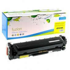 Compatible HP CF412X Toner Jaune Fuzion (HD)