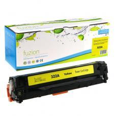 Recyclée HP CE322A (128A) Toner Jaune Fuzion (HD)