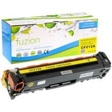 Compatible HP CF212A Toner Jaune Fuzion (HD)