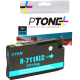Compatible N°711XL | CZ130A Cyan PTone (HD)