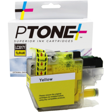 Compatible Brother LC-3013 Jaune PTONE (HD)