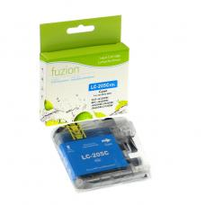 Compatible Brother LC205XXL Cyan Fuzion (HD)