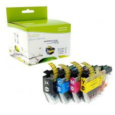 Compatible Brother LC-3013 Ensemble de 4 couleurs Fuzion (HD)