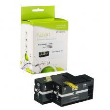 Compatible Canon PGI-1200xl 2 X Noir Fuzion (HD)
