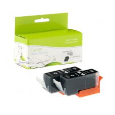 Compatible Canon PGI-225BK 2 X Noir Fuzion (HD)
